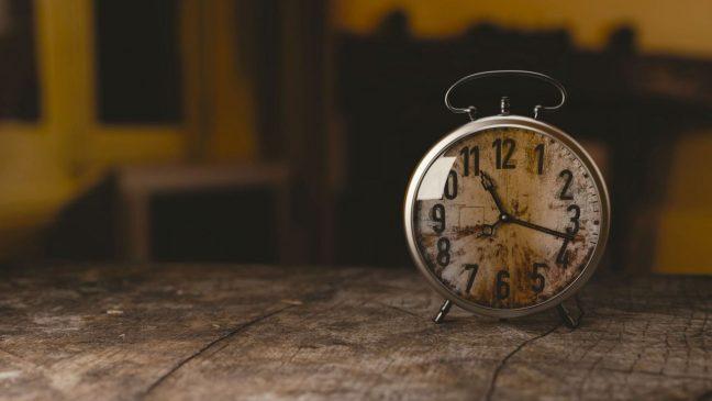 Clocks tickin