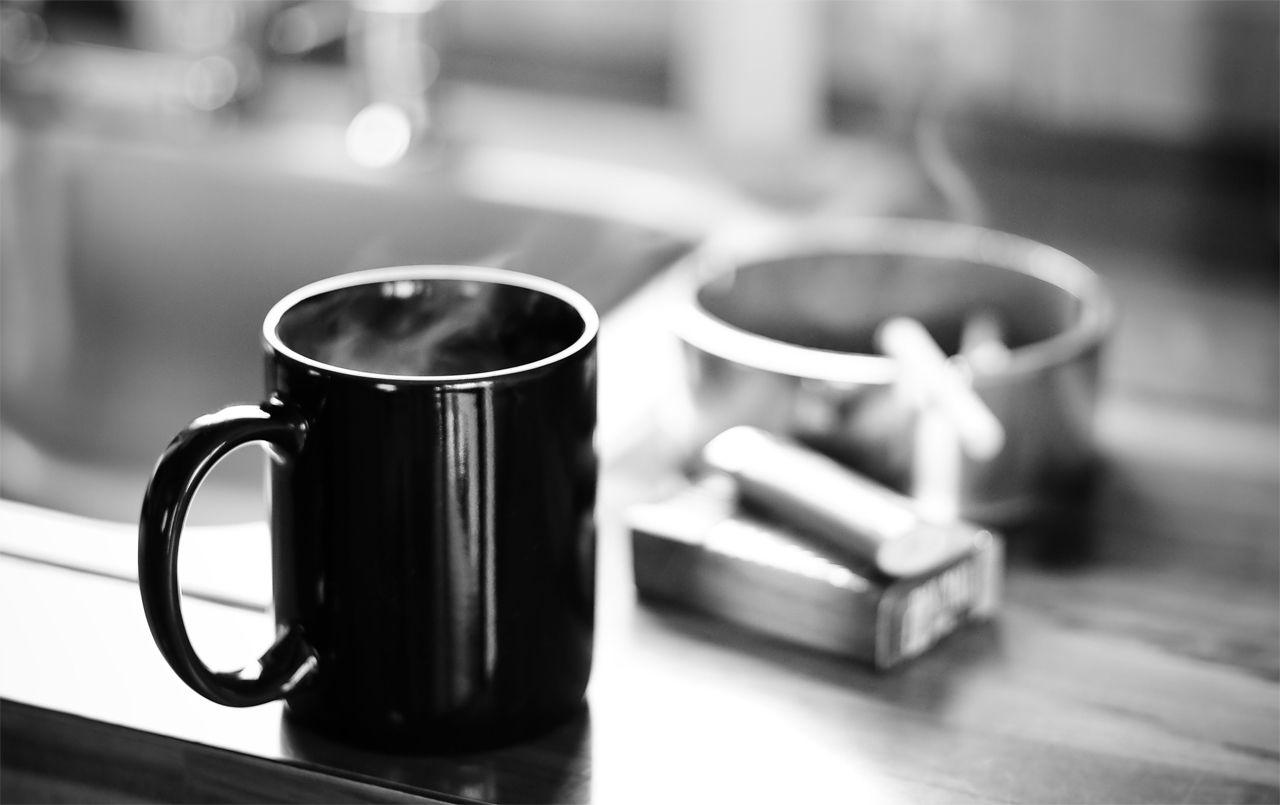Coffee and cig